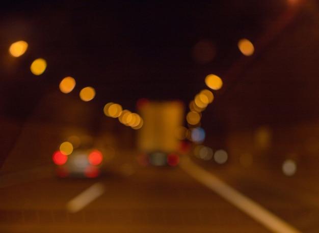 Sfondo sfocato. concetto di strada