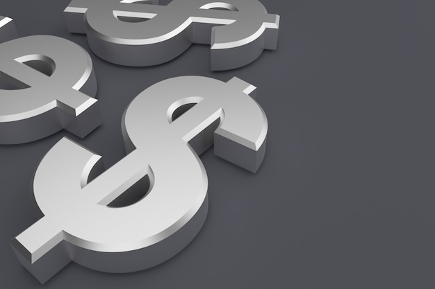 Sfondo simbolo del dollaro