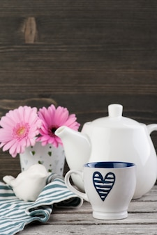 Sfondo tempo del tè