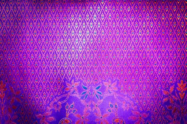 Sfondo tessile di seta tailandese