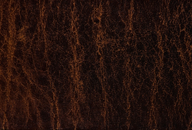 Sfondo texture astratta in pelle marrone scuro