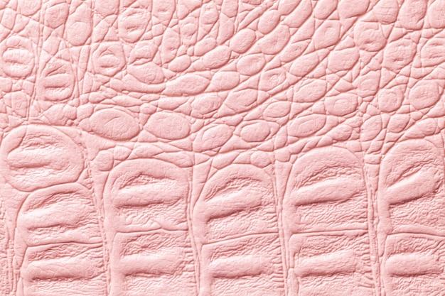 Sfondo texture in pelle rosa chiaro