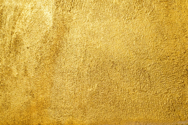Sfondo texture muro dorato.