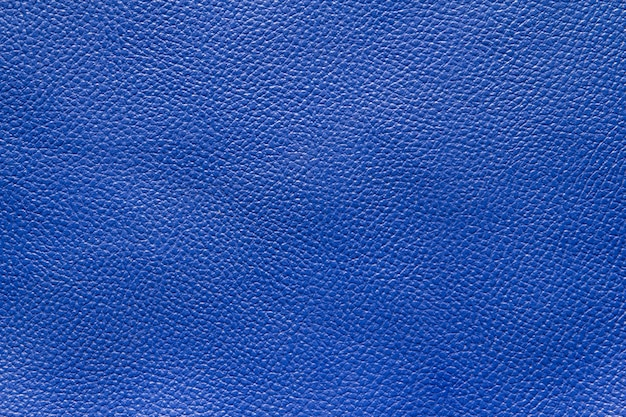 Sfondo texture pelle blu