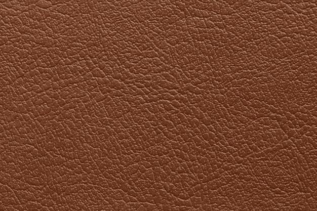 Sfondo texture pelle marrone scuro