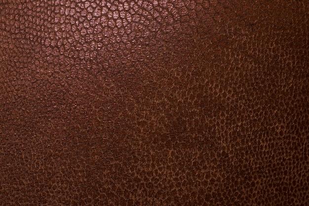 Sfondo texture pelle marrone