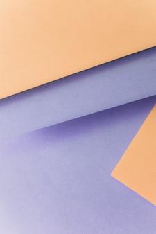 Sfondo viola e marrone per la progettazione del banner