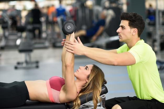 Sforzo stile di vita sfondo allenamento fitness