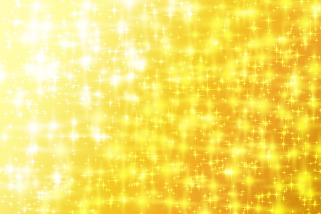 Sfumatura di oro giallo di sfondo luminoso scintilla astratta