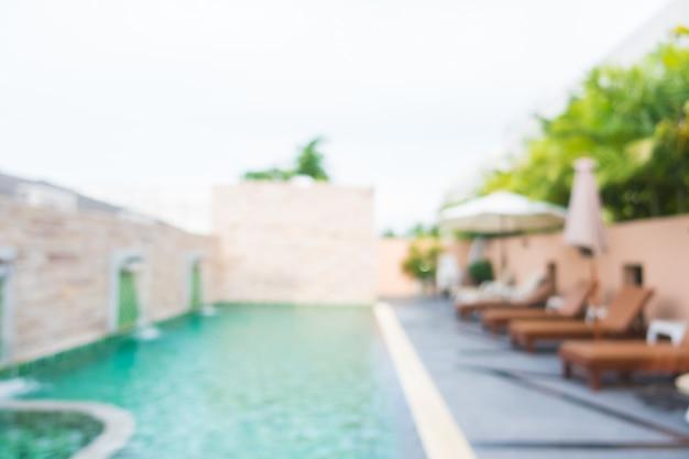 Sfuocatura astratta piscina