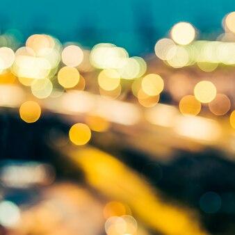 Sfuocatura astratta sfondo di città