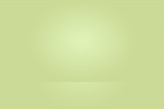 Sfuocatura astratta vuoto gradiente verde studio