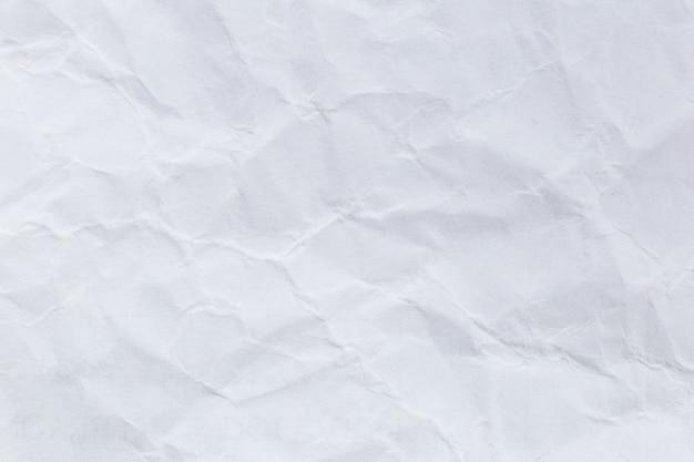 Sgualcito sfondo bianco carta riciclata