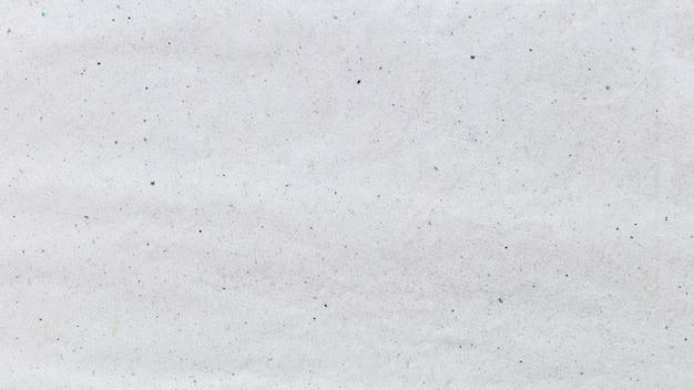 Sgualcito sfondo bianco carta riciclata.