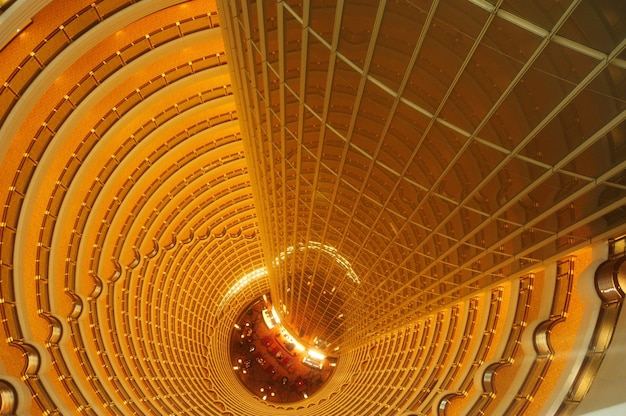 Shanghai - jin mao tower interior