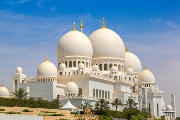 Sheikh zayed grand mosque ad abu dhabi