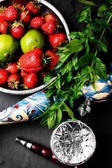 Shisha con aromi di frutta