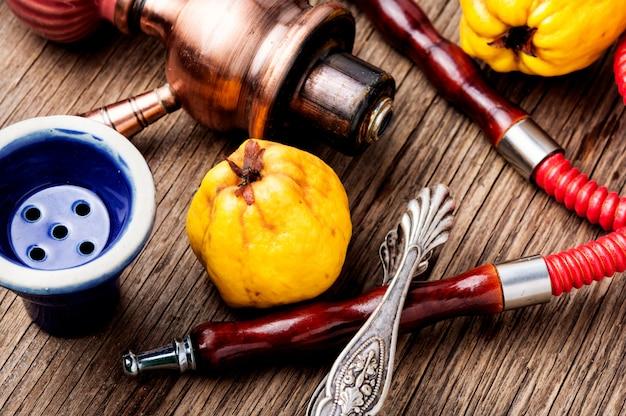 Shisha con mela cotogna aromatica