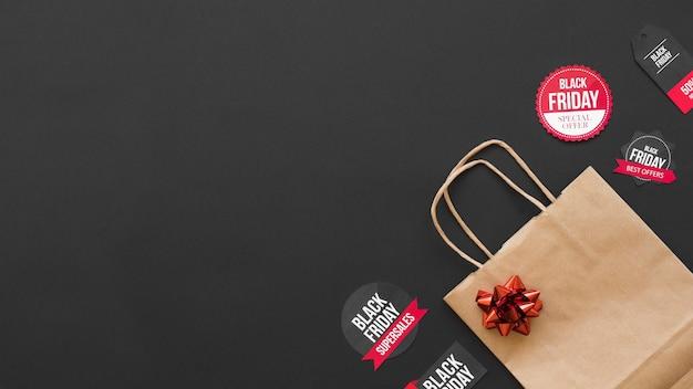 Shopping pacchetto vicino adesivi di vendita
