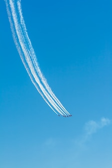 Show aereo di patrulla aguila