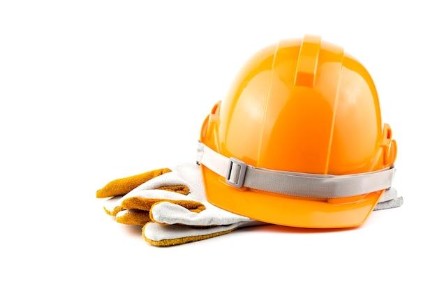 Sicurezza del casco sul posto di lavoro.