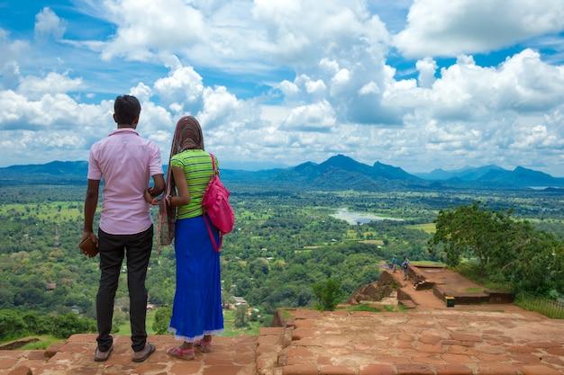 Sigiriya lion rock fortress nello sri lanka