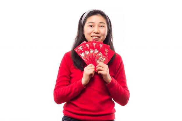 Signora giapponese coreano ricchezza studio