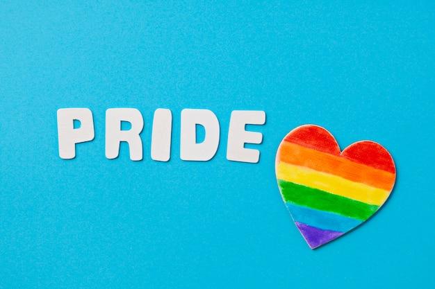 Simbolo di strisce di colore arcobaleno di lgbt gay pride. copia spazio