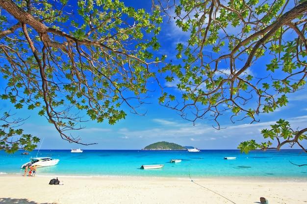 Similan national park, isola paradisiaca situata a sud della thailandia