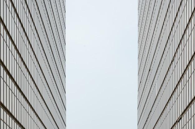 Simmetria dell'edificio a hong kong