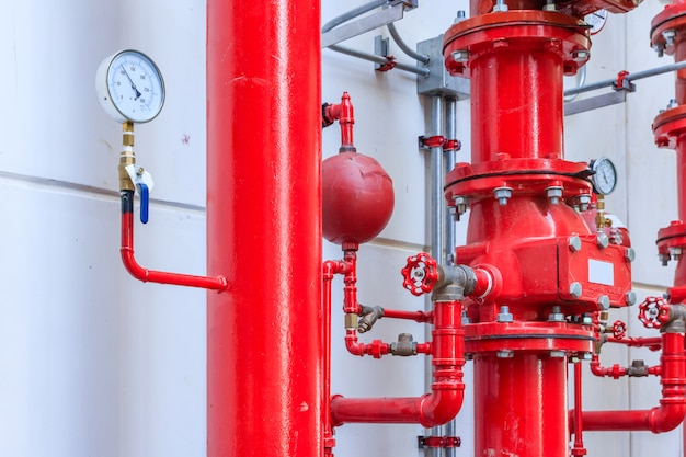 Sistema di irrigazione a pioggia e antincendio, sistema di controllo dell'irrigatore d'acqua