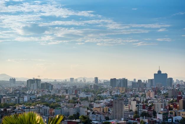 Skyline di città del messico