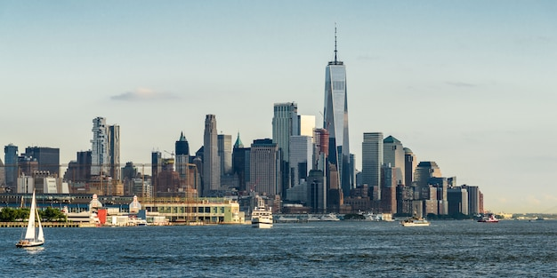 Skyline di lower manhattan