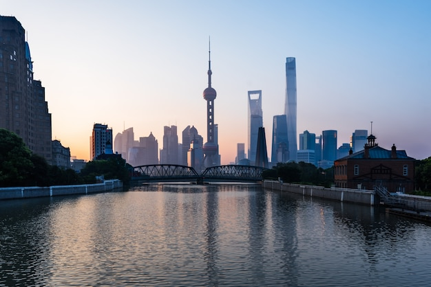 Skyline di shanghai
