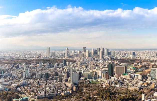 Skyline di tokyo shinjuku