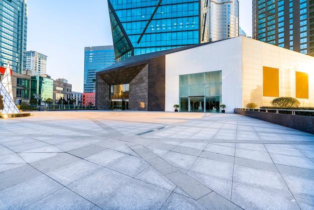 Skyline of modern urban architecture