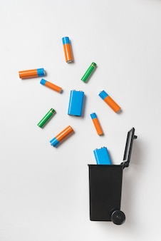 Smaltimento corretto di batterie e accumulatori.