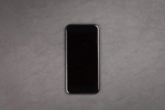 Smartphone moderno nero