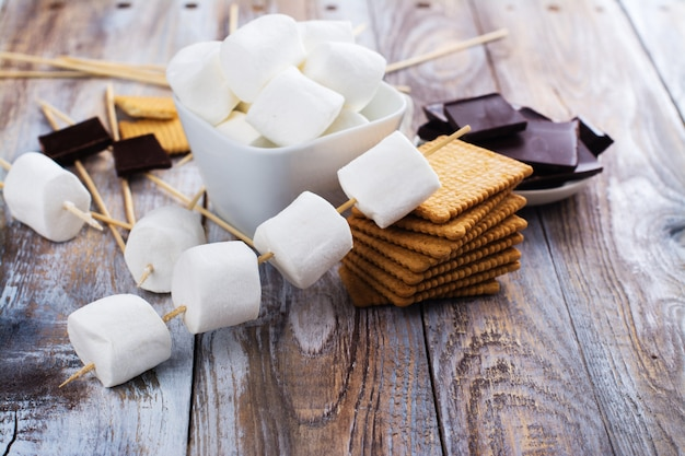 Smores ingredienti dolci