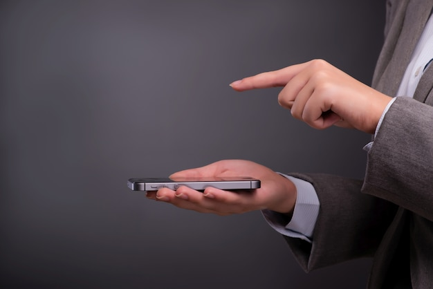 Sms imprenditrice e invio di messaggi di testo