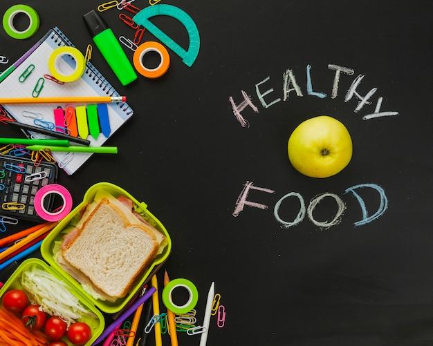 Snack e forniture scolastiche
