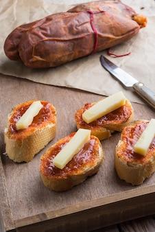 Sobrasada e parmigiano