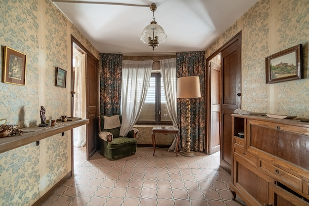 Soggiorno di una casa classica