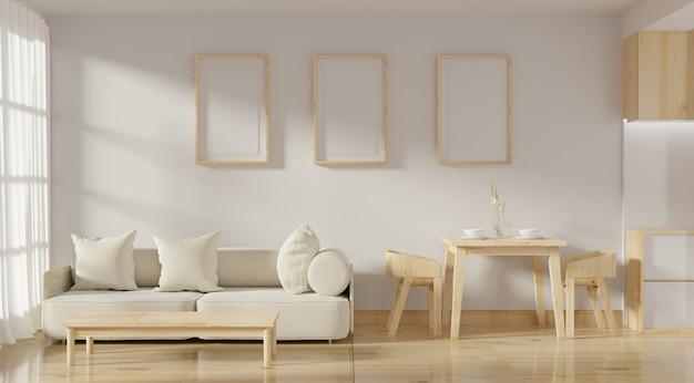 Soggiorno moderno interior design
