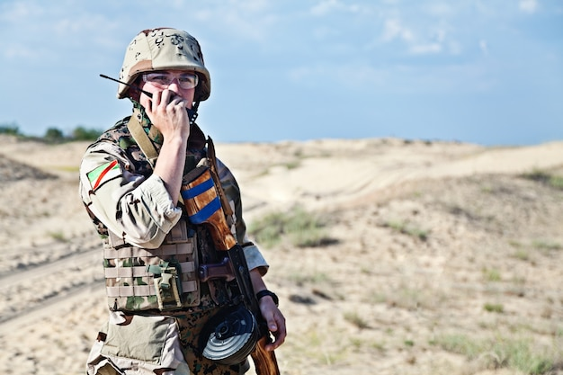 Soldato iracheno