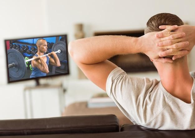 Sollevamento pesi svago contenuti stile di vita sano