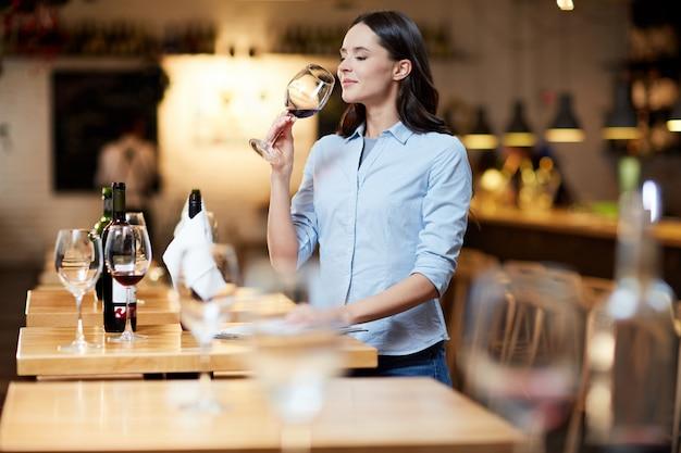 Sommelier del ristorante