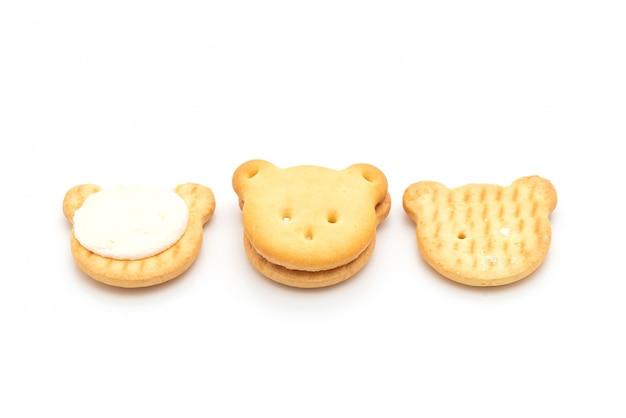 Sopportare i biscotti con la crema