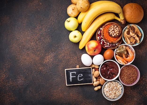 Sorgenti di ferro per prodotti sani