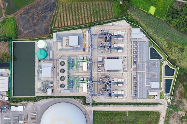 Sottostazione della centrale elettrica
